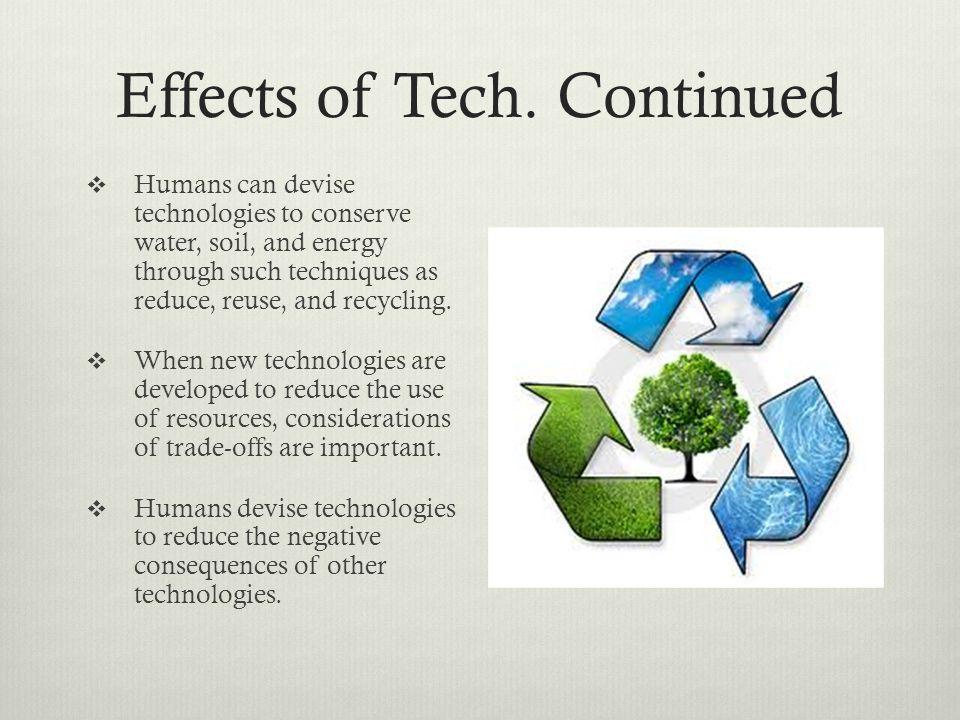 Effects of Tech.