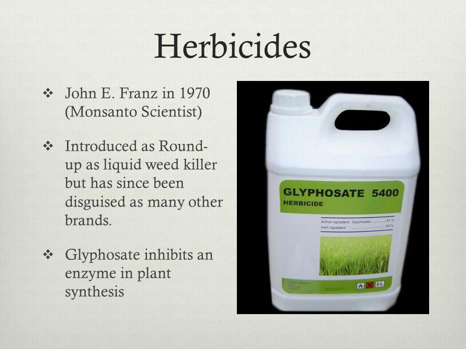 Herbicides John E.