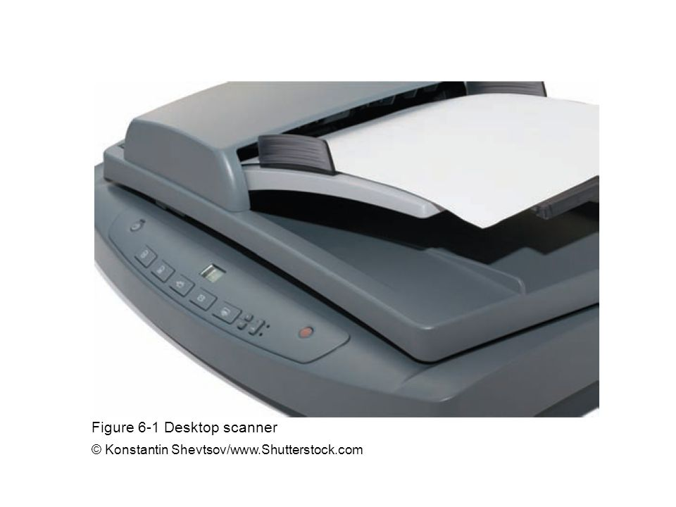 Figure 6-1 Desktop scanner © Konstantin Shevtsov/www.Shutterstock.com