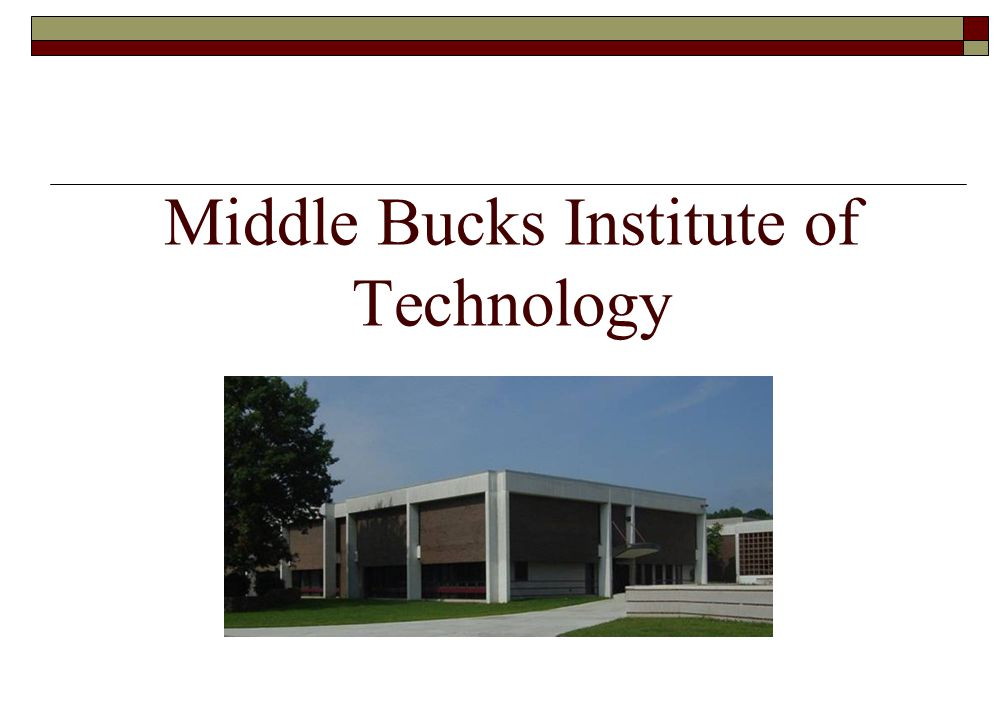Middle Bucks Institute of Technology