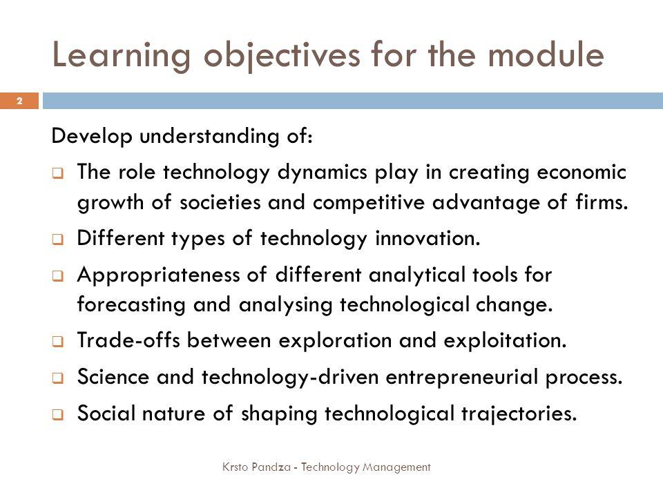 Technology roadmap; High-k 23 Krsto Pandza - Technology Management