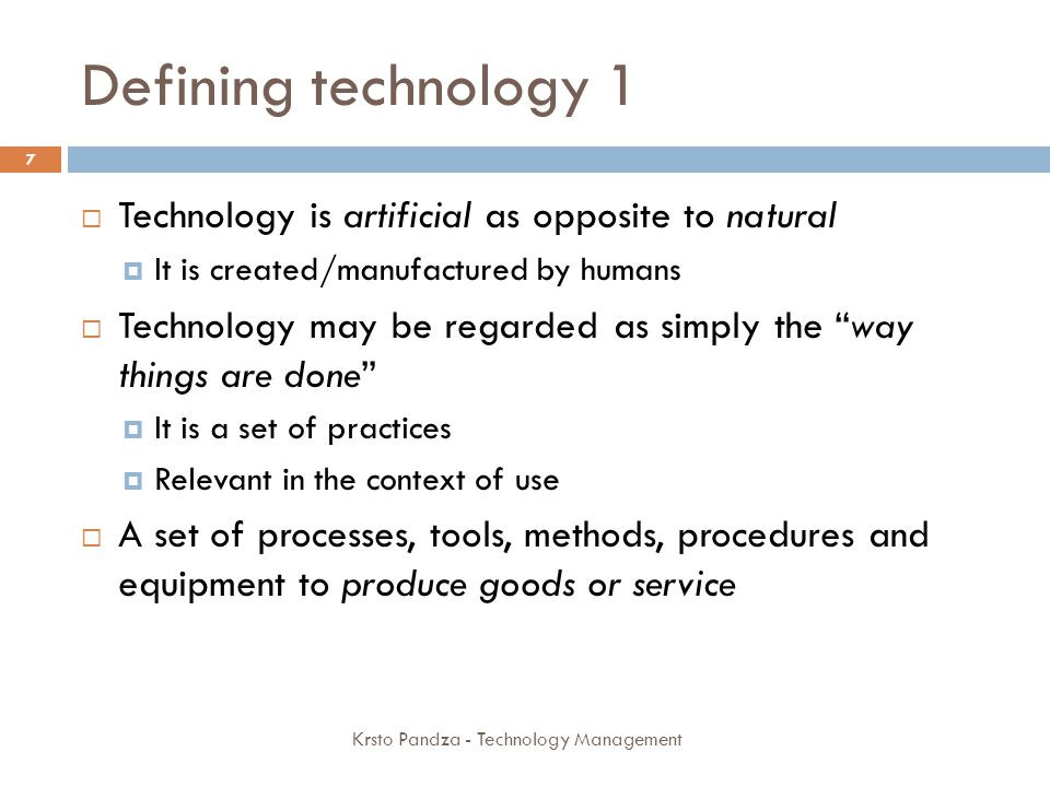 Dynamics of product and process innovation New products offering improvements in functional characteristics, technical abilities, ease of use, or other dimensions (incremental or radical) New techniques of producing goods or services Improve the effectiveness or efficiency of production processes.