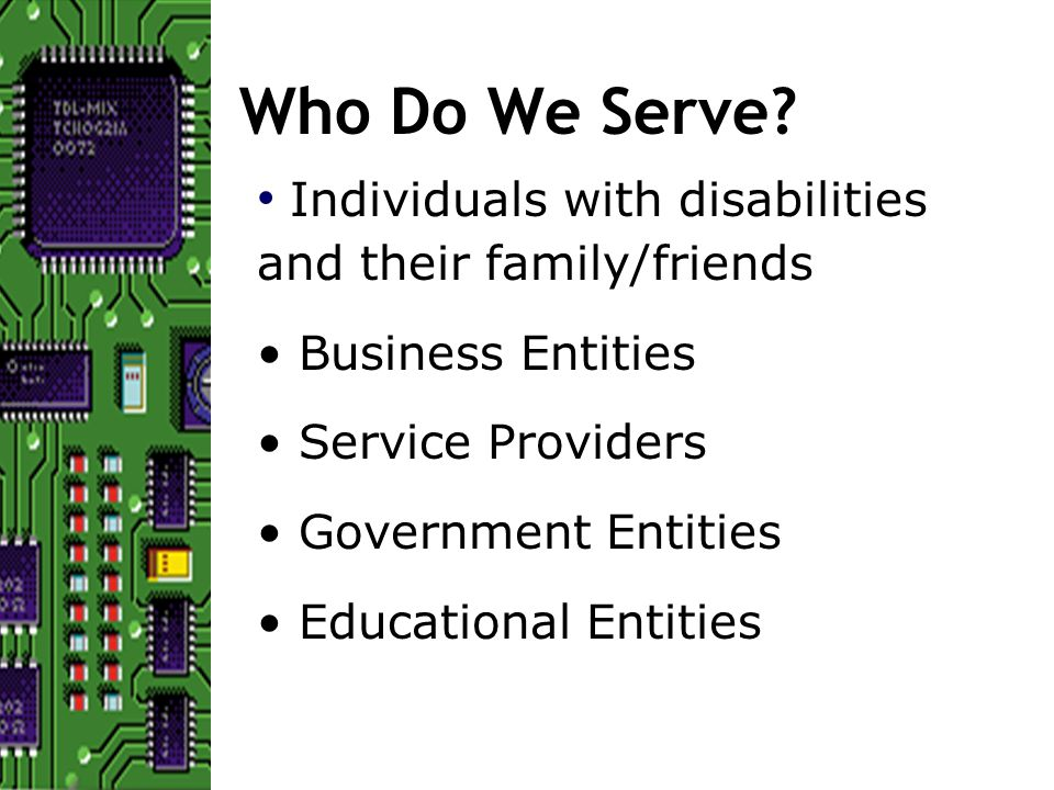 The Bottom Line Organizations that value and promote development of accessible EduIT environments create systems that, as a whole, are more accessible and usable by all.