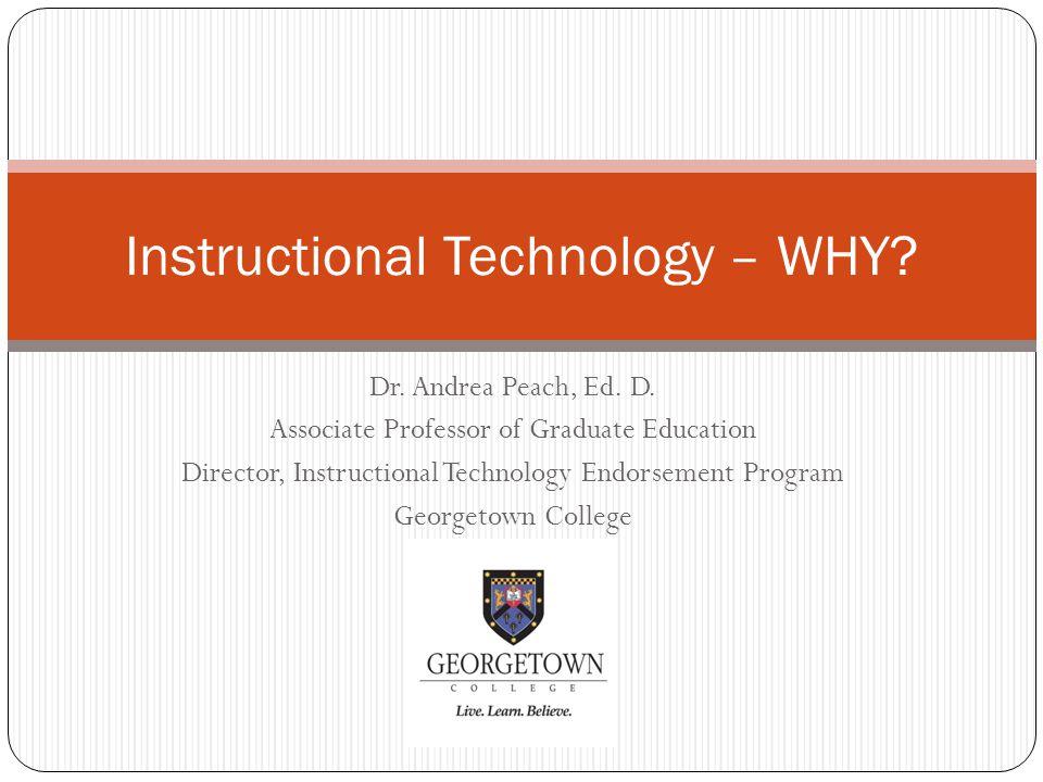 Dr. Andrea Peach, Ed. D.