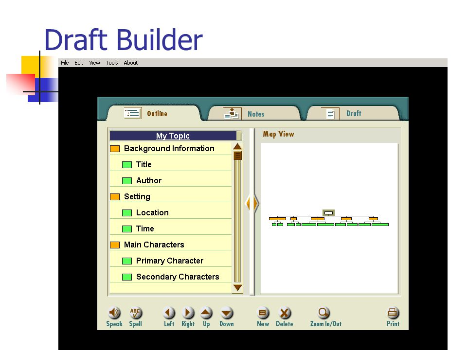 Draft Builder