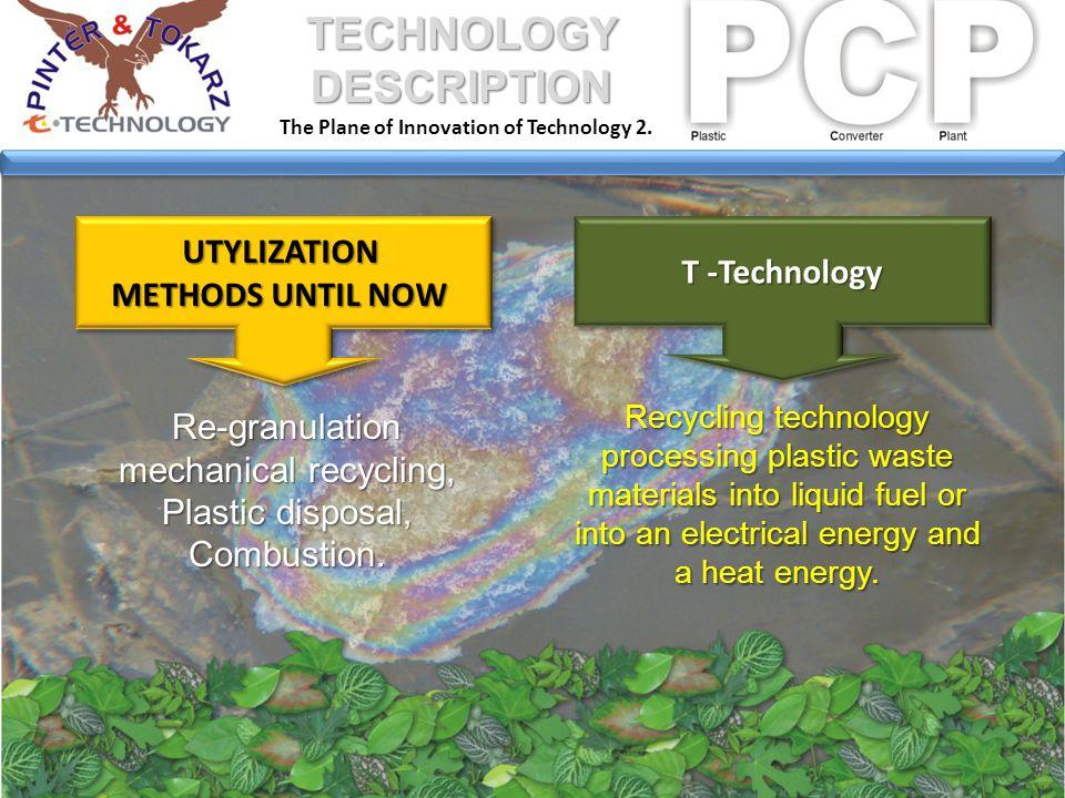 1 PCP 2 PCP + turbine Raw material – 400 -510 t/mo.