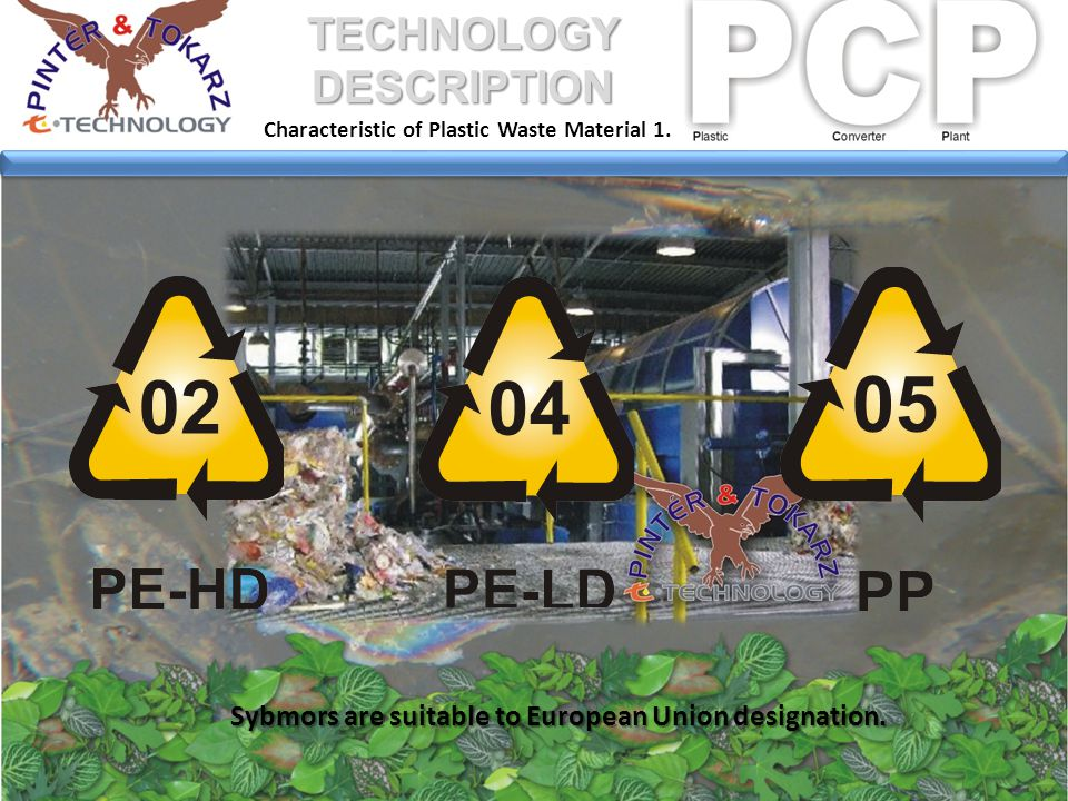 The offered production technology runs in a continuous mode of TECHNOLOGY DESCRIPTION 6800 hours per year.