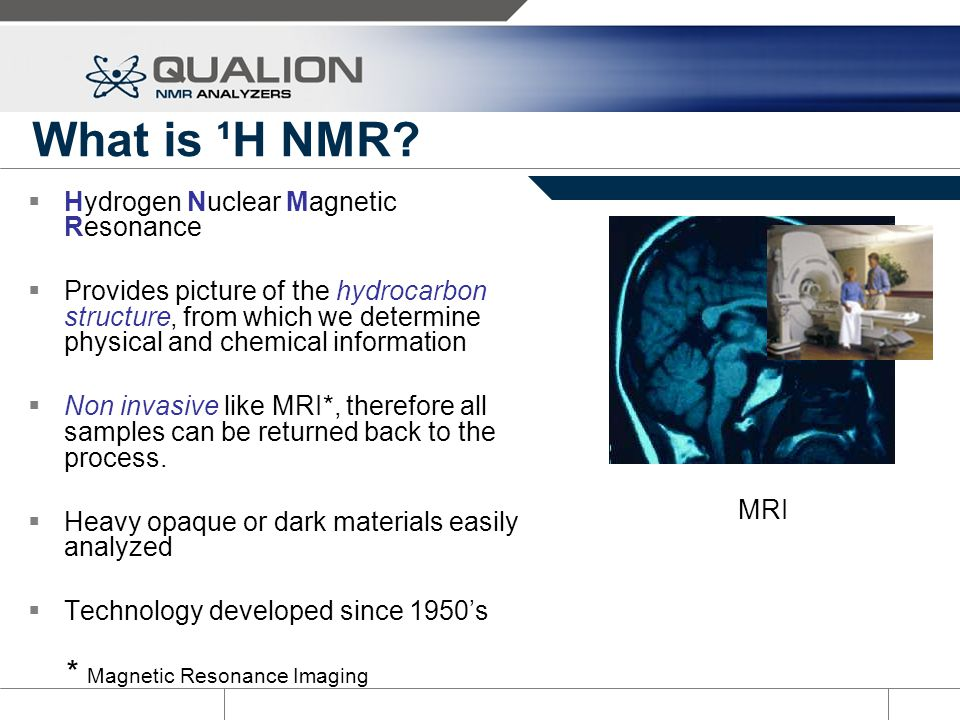 What is ¹H NMR Analysis.