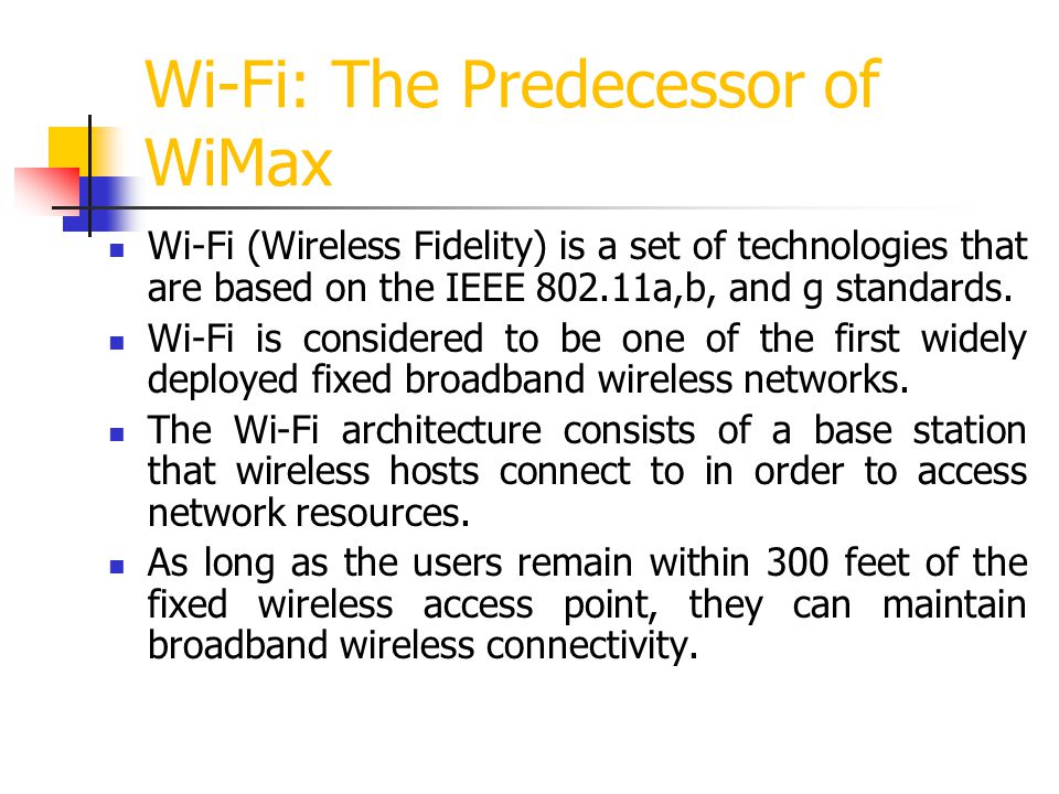 Orthogonal Frequency Division Multiplexing (OFDM) All profiles currently defined by the WiMax Forum specify the 256-carrier OFDM air interface.