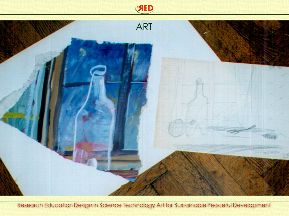 Research Education Design in Science Technology Art for Sustainable Peaceful Development ART