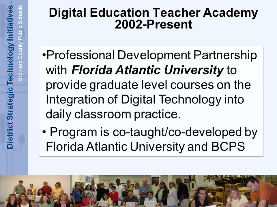 District Strategic Technology Initiatives Broward County Public Schools DETA Curriculum DETA One: DETA Two: DETA Wiki