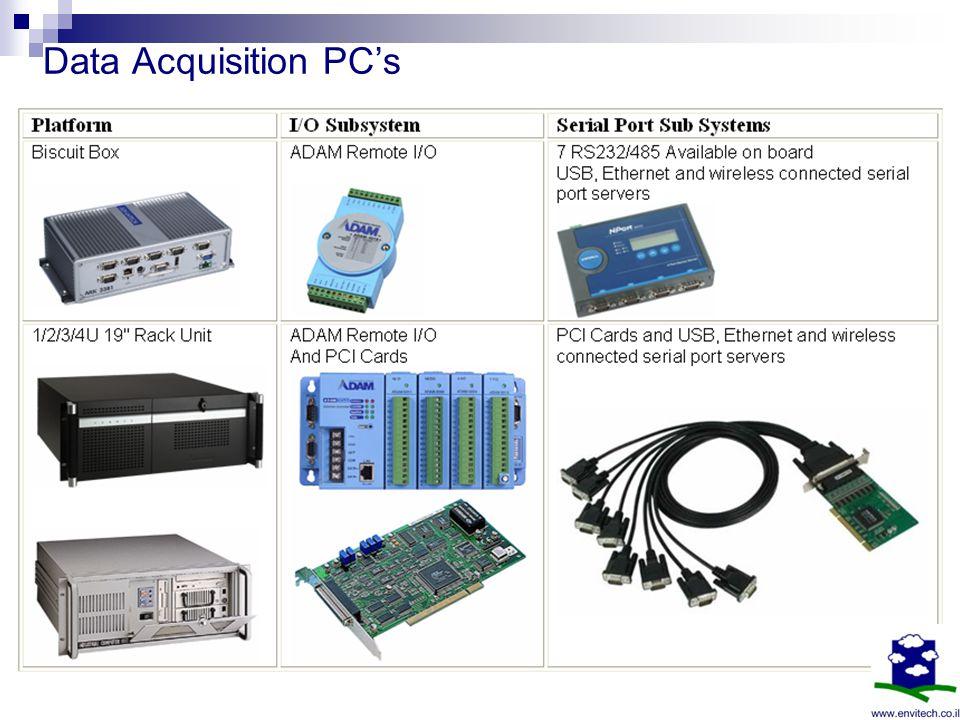 Data Acquisition PCs