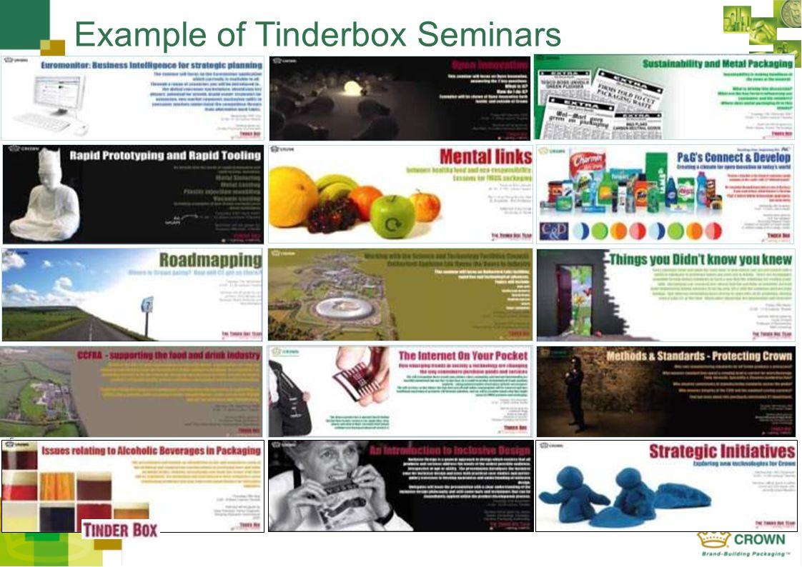 CROWN Europe - Example of Tinderbox Seminars