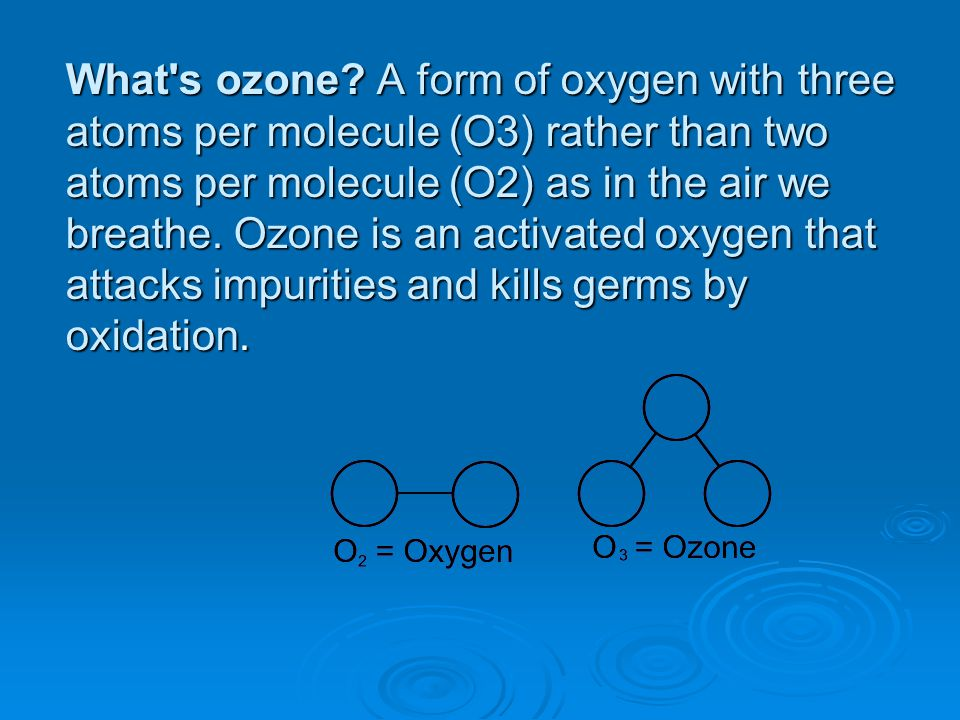 What s ozone.