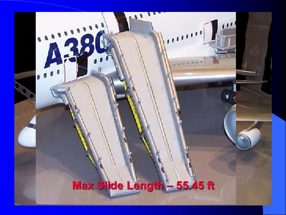 Max Slide Length – 55.45 ft