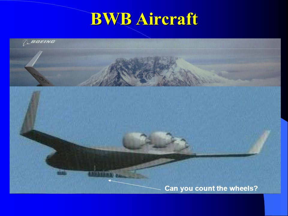 BWB Aircraft Can you count the wheels