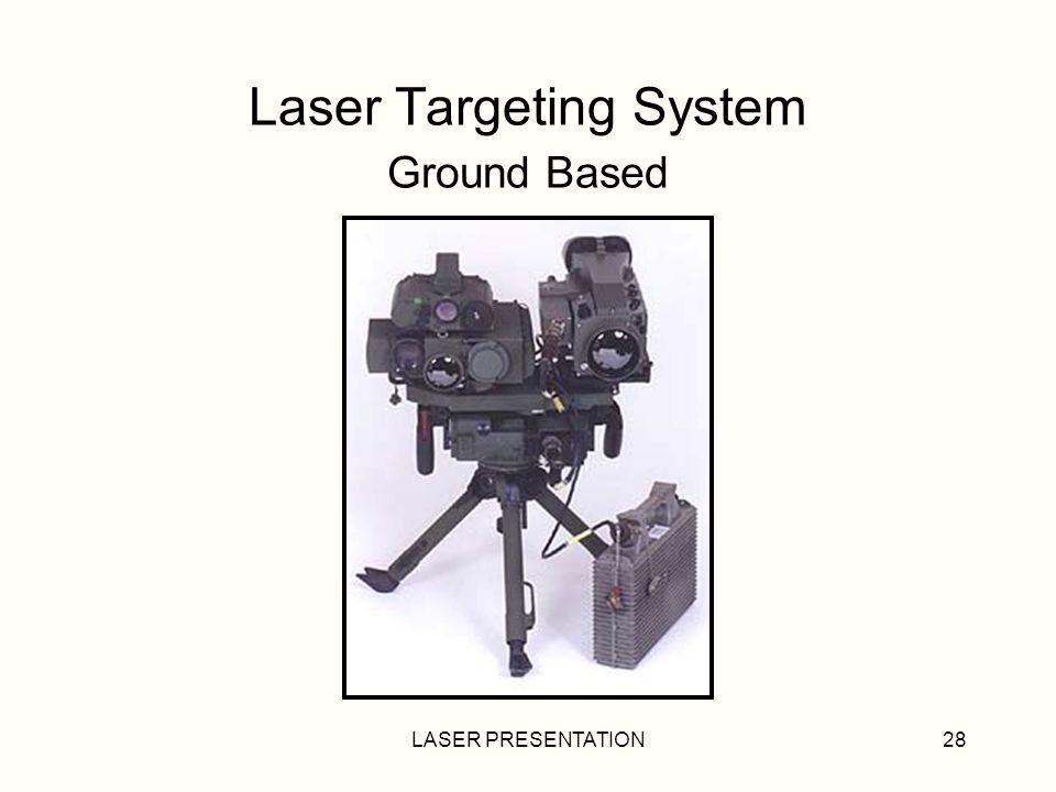 LASER PRESENTATION28 Laser Targeting System Ground Based