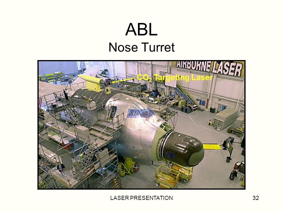 LASER PRESENTATION32 ABL Nose Turret CO 2 Targeting Laser