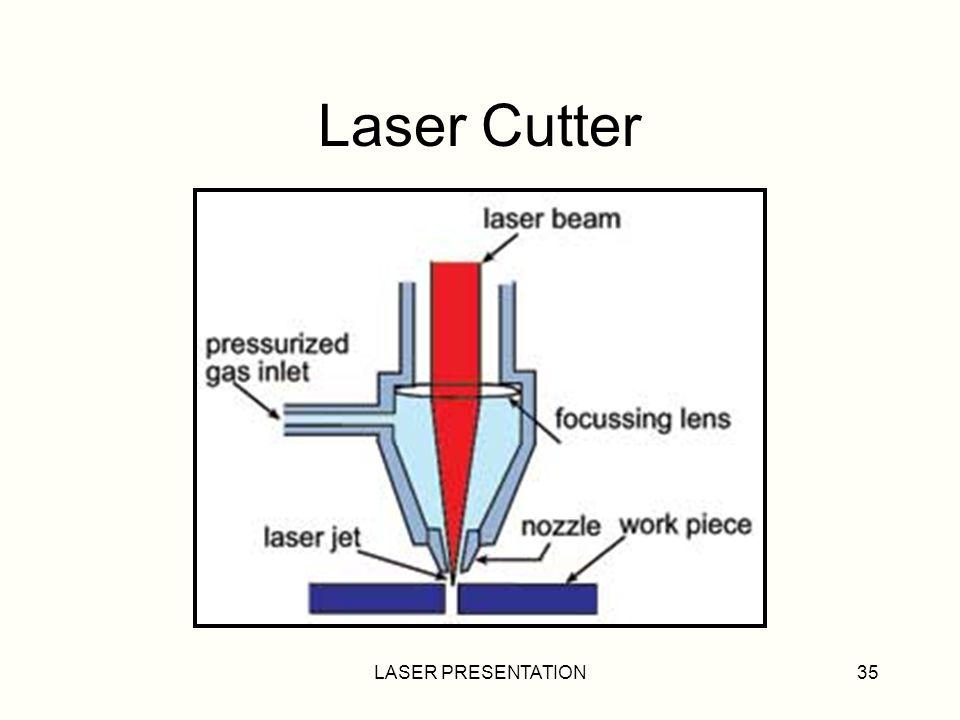 LASER PRESENTATION35 Laser Cutter