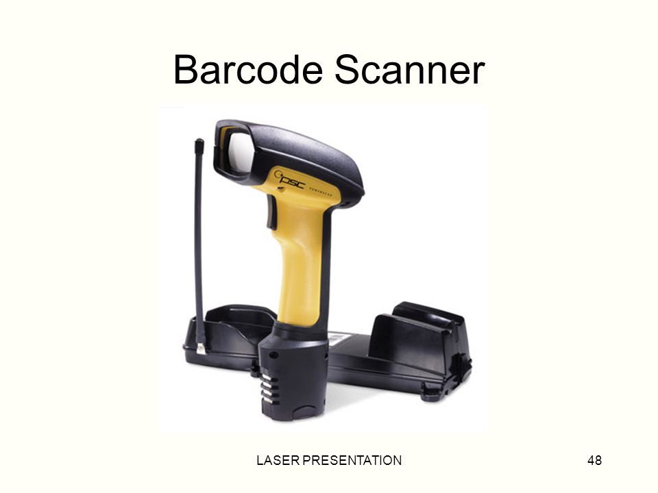 LASER PRESENTATION48 Barcode Scanner