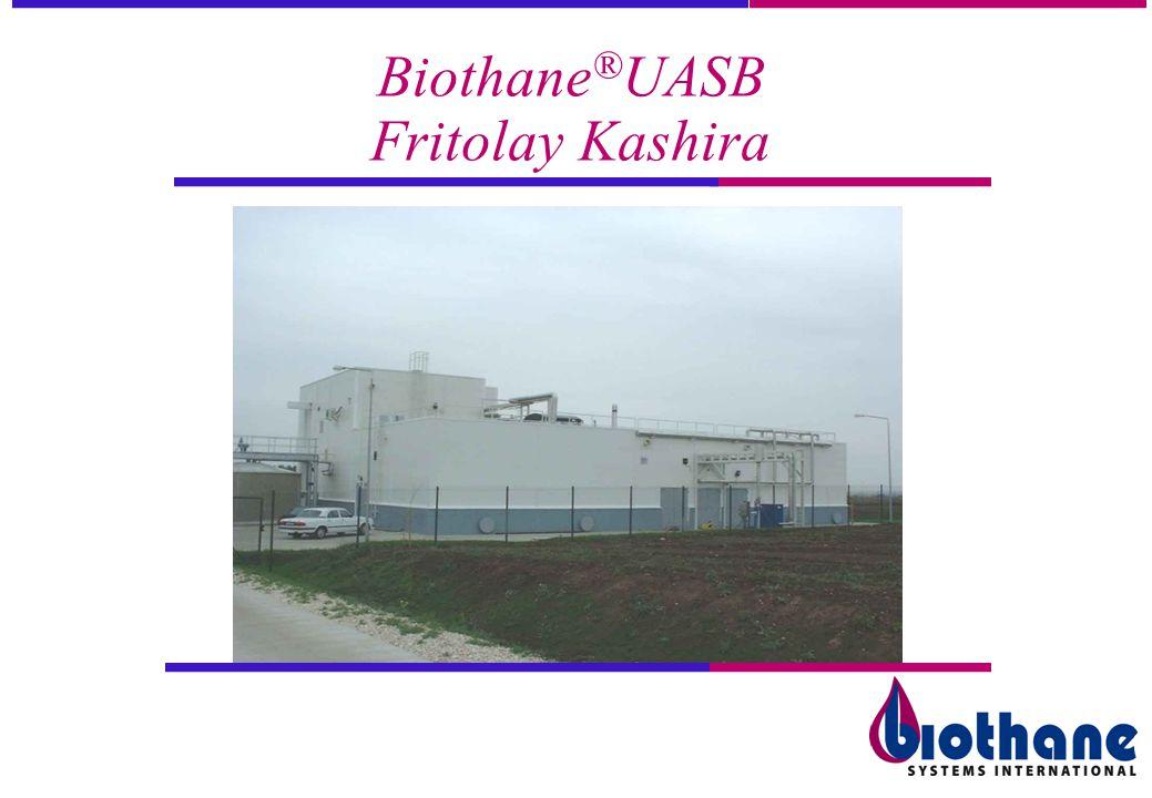 Biothane ® UASB Fritolay Kashira