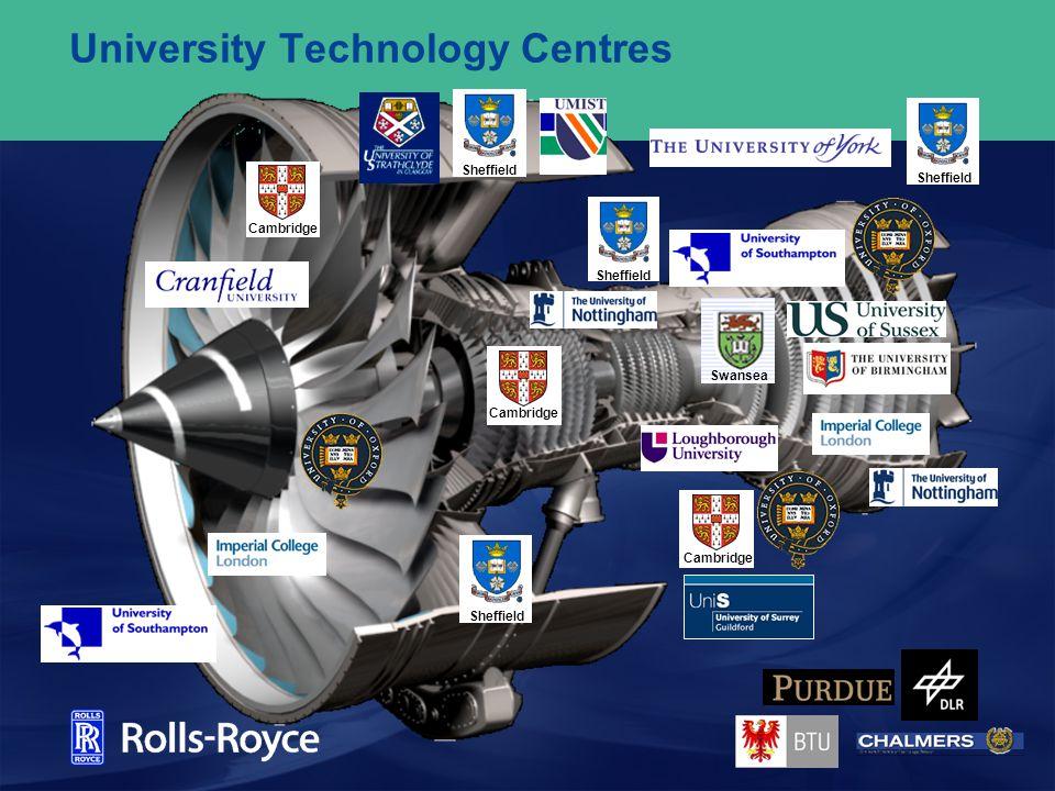 University Technology Centres Cambridge Sheffield Swansea