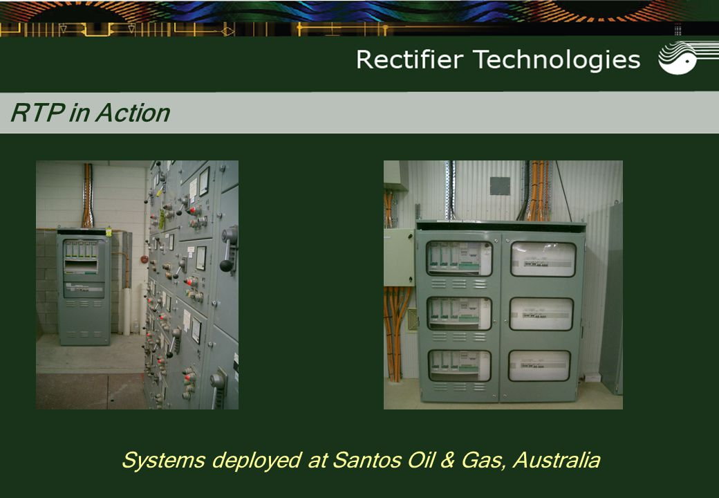 RTP in Action Systems deployed at Santos Oil & Gas, Australia