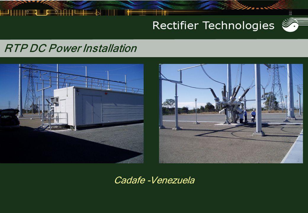 RTP DC Power Installation Cadafe -Venezuela
