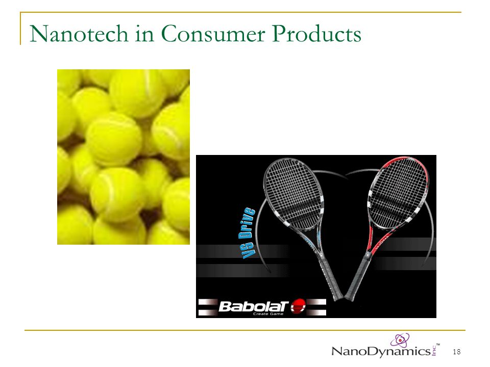 18 Nanotech in Consumer Products