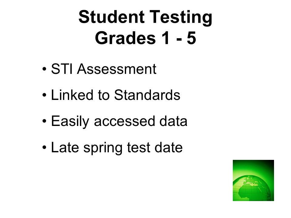 Sample 3 rd Grade Test