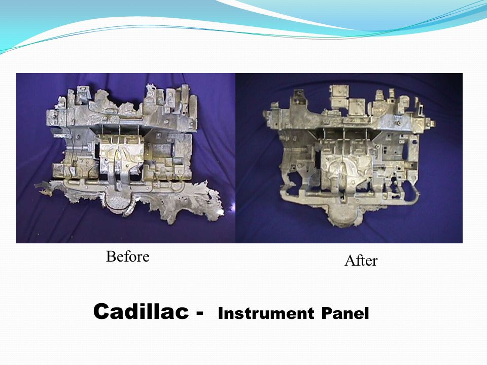 Cadillac - Instrument Panel Before After