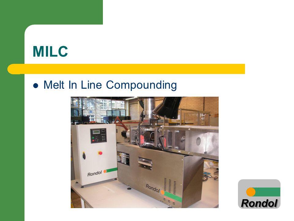 Rondol MILC Melt In Line Compounding