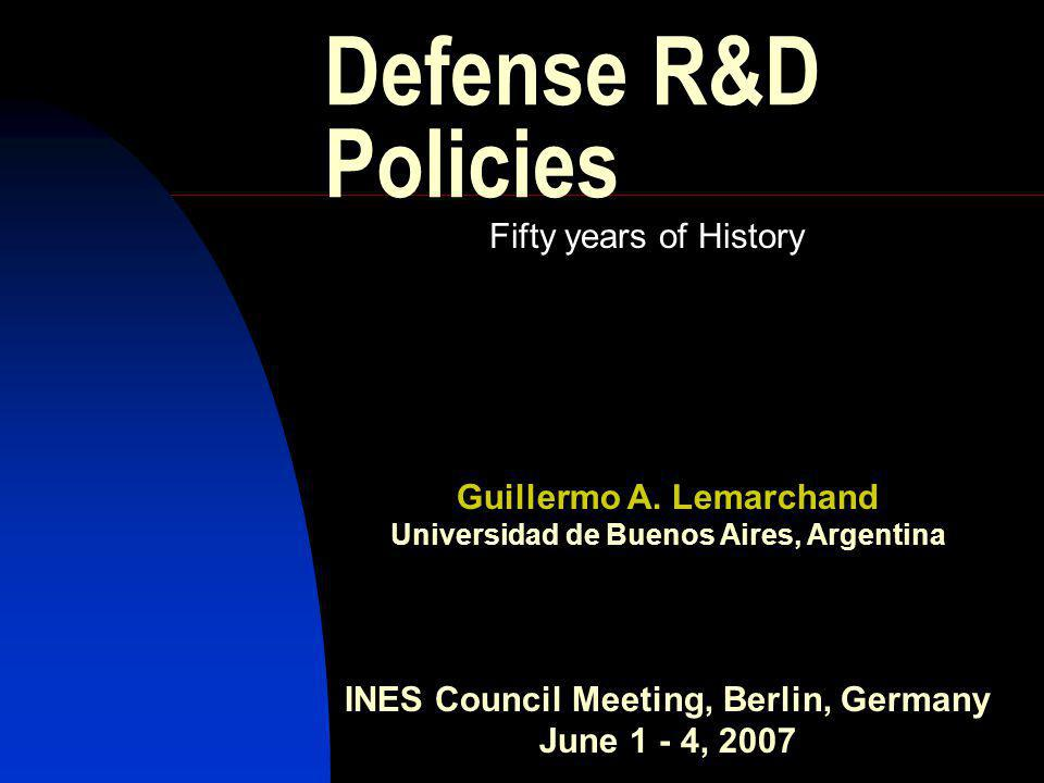 A first approach relation between R&D and the exponential growth of weapons lethality maximum number of casualties per hour that a weapon can generate The theoretical Lethality Index was proposed by Colonel T.N.