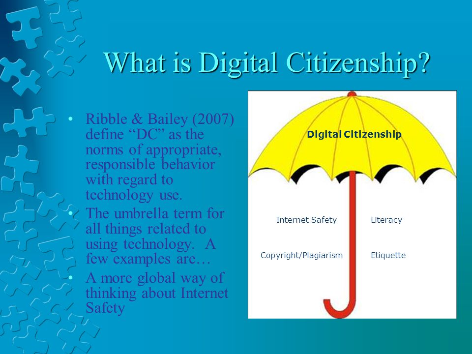 What is Digital Citizenship.