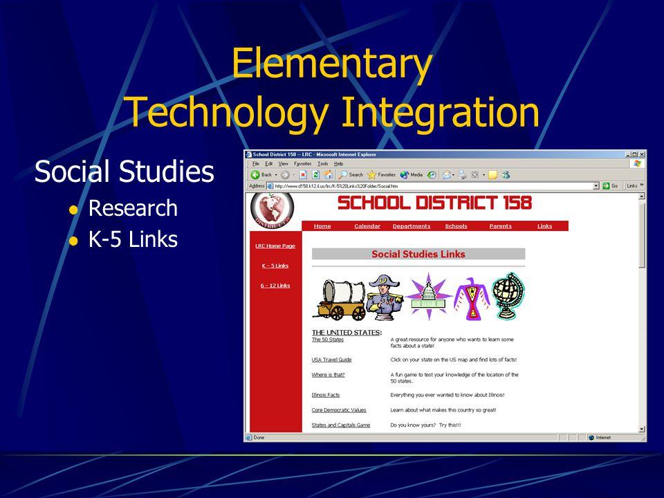 Elementary Technology Integration Science Practice & Assessment Teachers Resource Planner Testworks