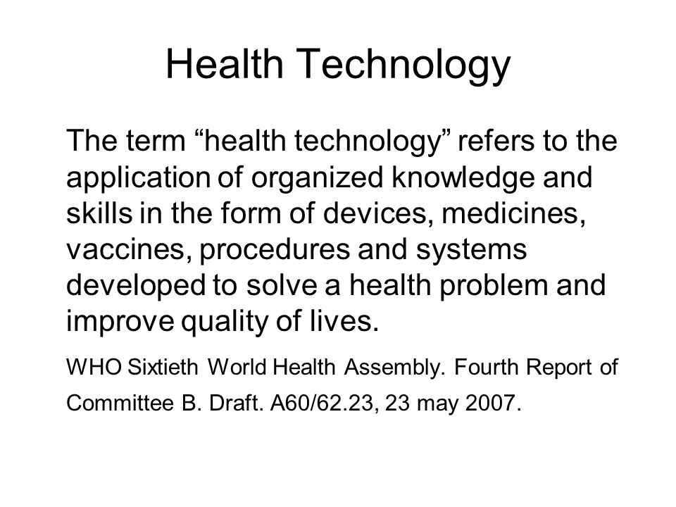 Adoption A multi-sector process resulting in an explicit global and/or country policy decision to access and use new and improved health technologies, including strategies for tuberculosis control.