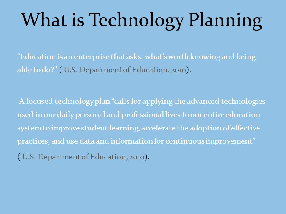 A Strategic Technology Plan provides you with a clear picture of our school organizations technology vision, helping you better prioritize technology initiatives, analyze system payback, invest appropriately in new systems, and ensure your employees and support staff are prepared for the emerging technology environment.