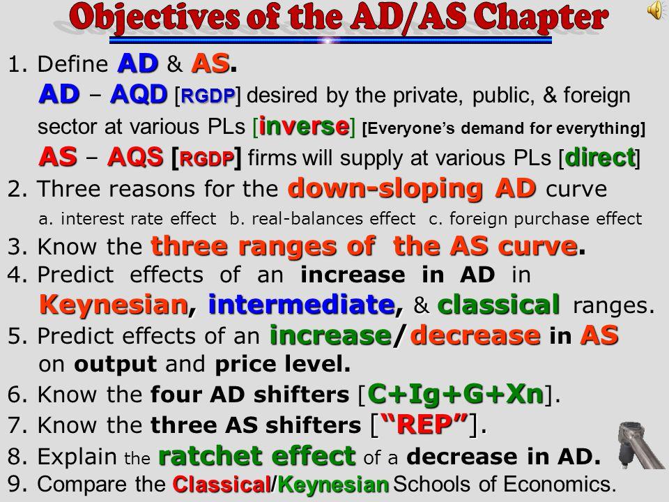 ADAS 1.Define AD & AS.
