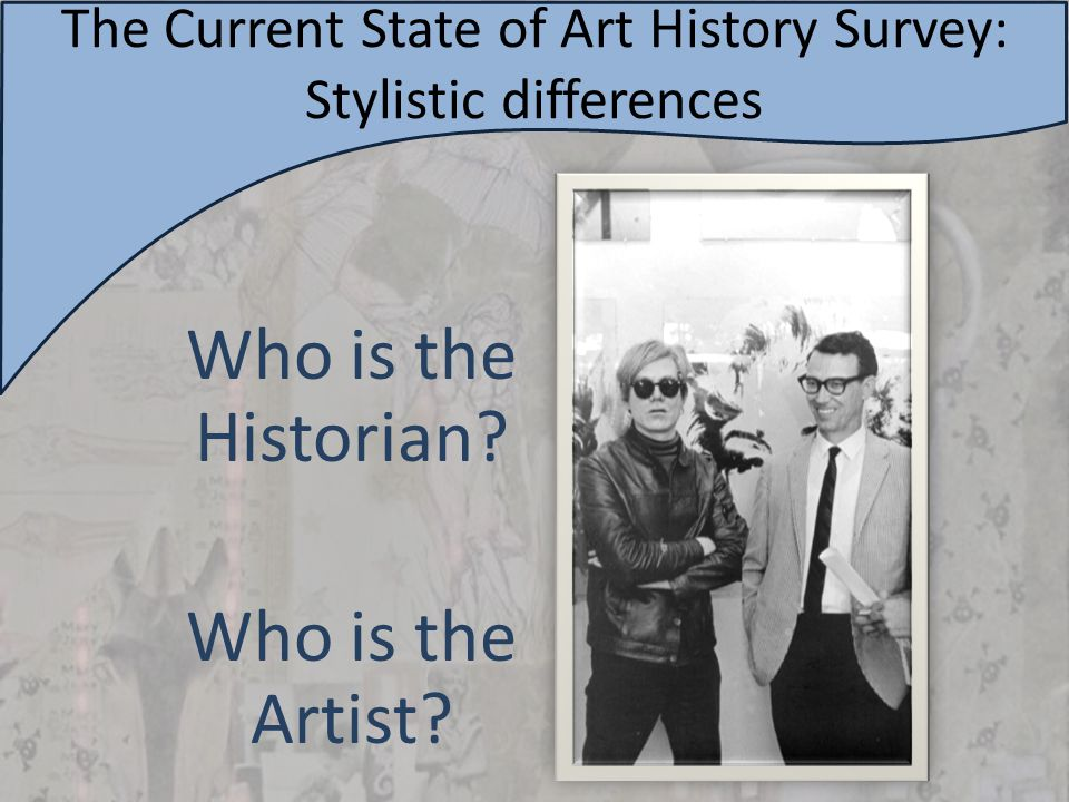 The Current State of Art History Survey: Stale Narrative