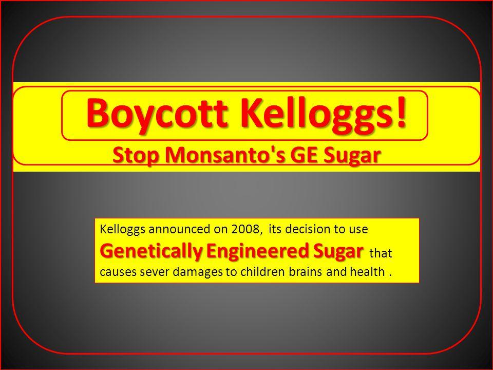 Boycott Kelloggs.