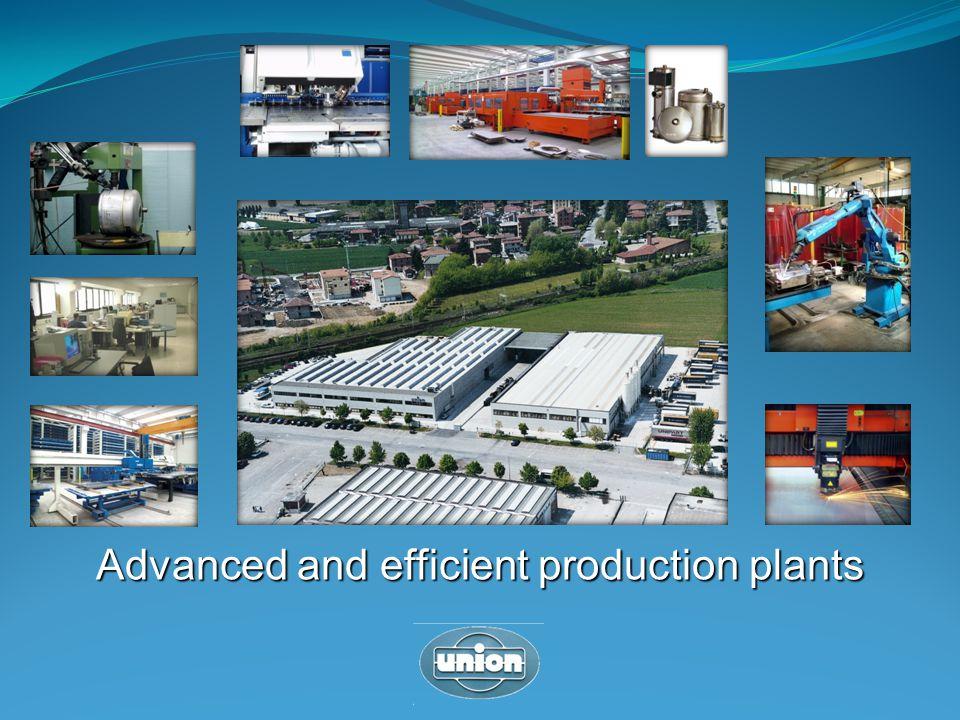 Advanced and efficient production plants