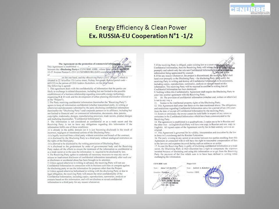 Energy Efficiency & Clean Power Ex.