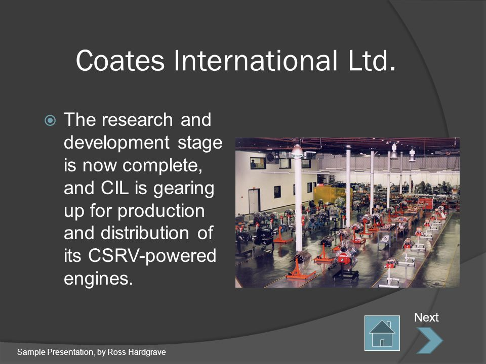 Coates International Ltd.