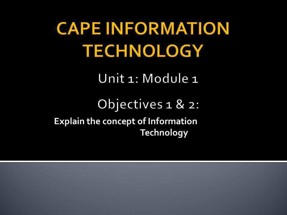 Is the use of computers and software to manage information.