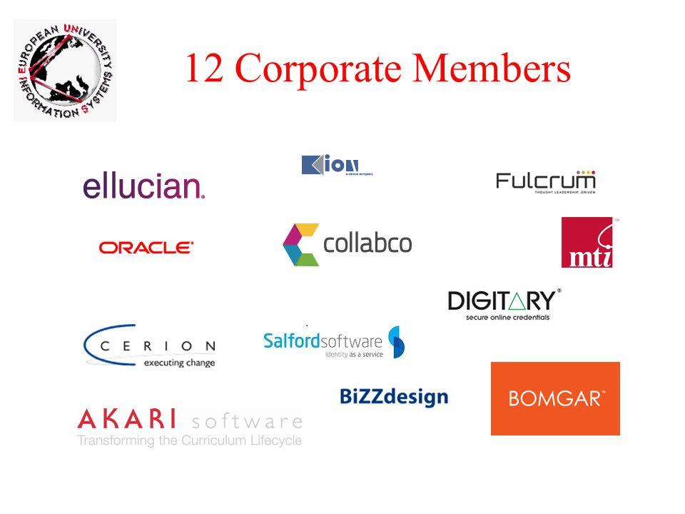 12 Corporate Members