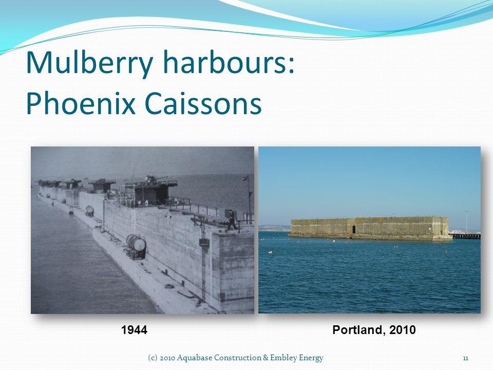 Mulberry harbours: Phoenix Caissons Portland, 20101944 11 (c) 2010 Aquabase Construction & Embley Energy