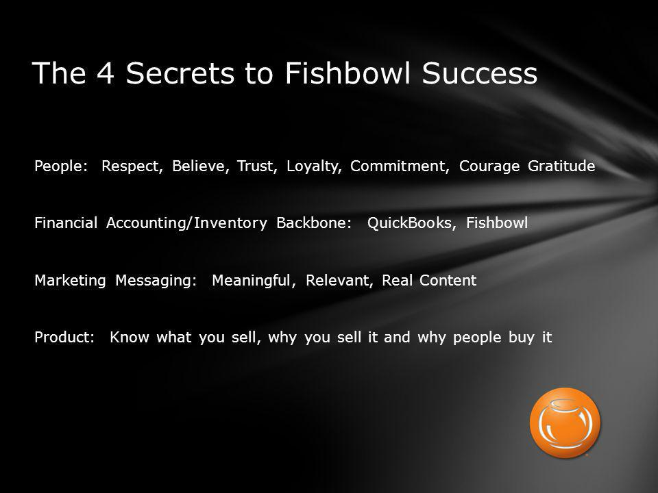 At Fishbowl we believe that most of lifes challenges can be solved on a 3x5 card