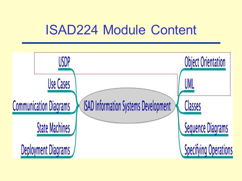 ISAD224 Module Content