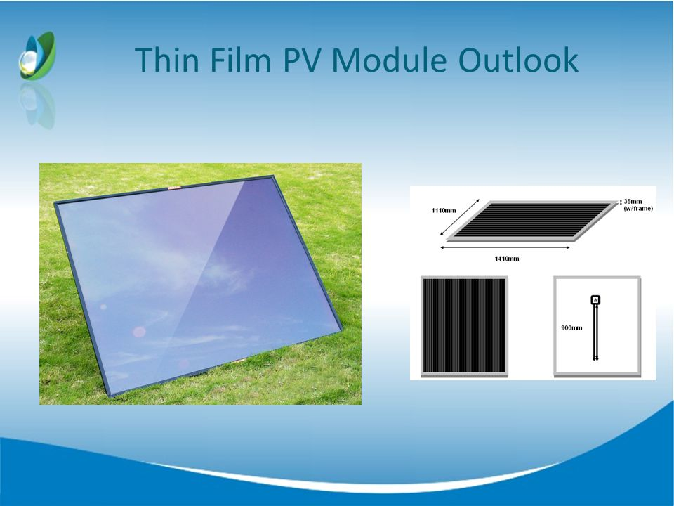 Thin Film PV Module Outlook