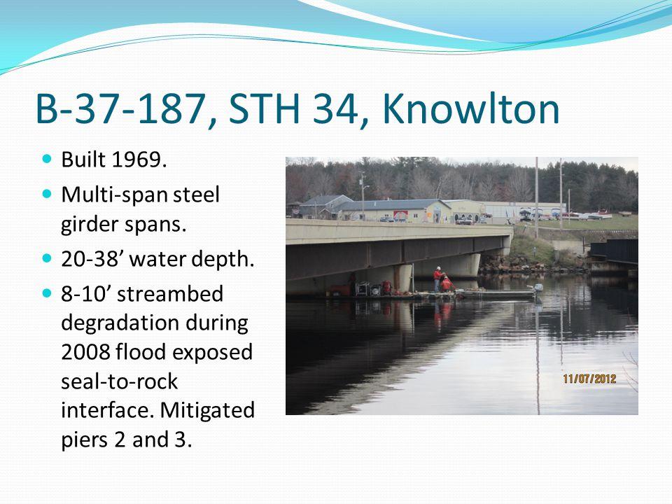 B-49-90, CTH HH, Stevens Point Built 1999.Multi-span pre- stressed girder spans.